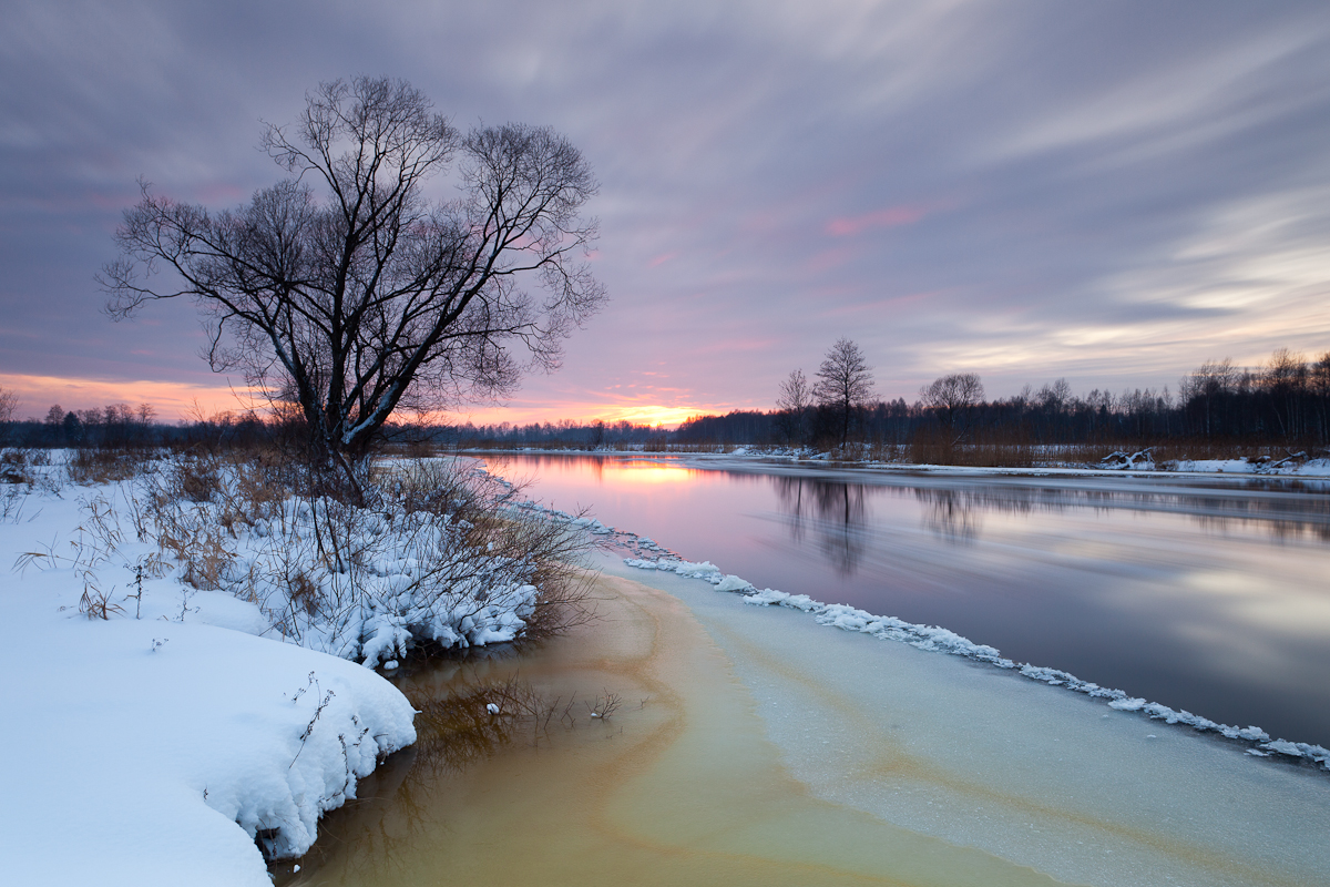 Jaak Sarv canon eesti estonia europe evening jõgi landscape loodus lumi maastik nature photography päikeseloojang river snow sunset talv winter
